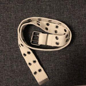 Accessories - Cream Belt